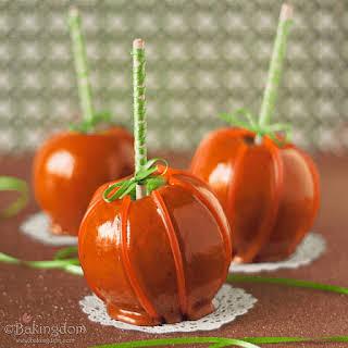 "Cinnamon Caramel Apple ""Pumpkins""."