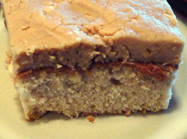 Peanut Butter Cake Recipe
