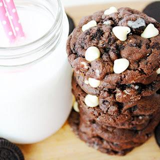 Chocolate Cookies & Cream Cookies