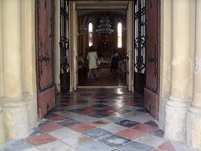 Photo: A karcagi Szent István templom főbejárata