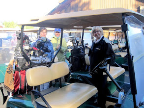 Photo: Janet, Vicky, Linda at the new Rope Rider Golf Course at Suncadia Resort in Roslyn, WA