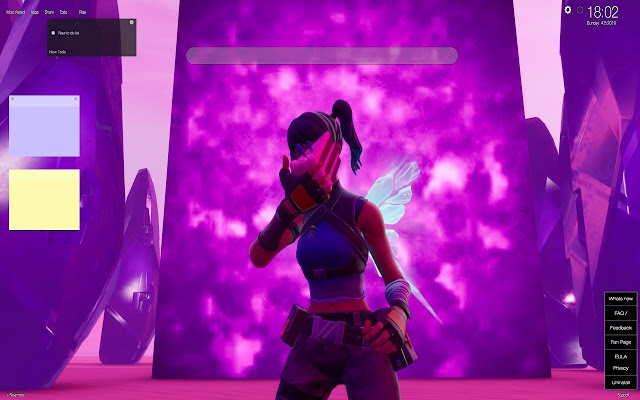 Crystal Fortnite Skin Hd Wallpapers