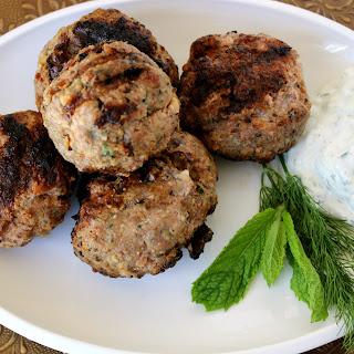 Grilled Mediterranean Meatballs