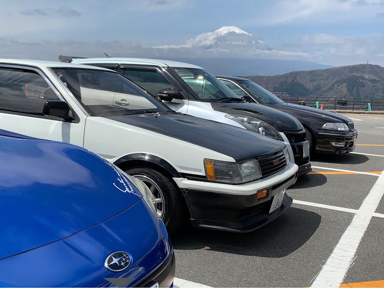 マークII JZX100のSSS(saitama street stage),箱根ターンパイク,大涌谷,芦ノ湖,富士山に関するカスタム&メンテナンスの投稿画像2枚目
