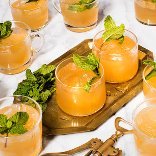 Minty Moscow Mule Punch.