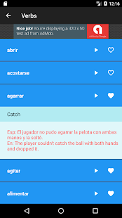 Learn Spanish: Free Offline Audio Dictionary- screenshot thumbnail