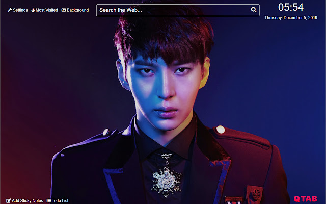 Leo vixx Wallpaper for New Tab