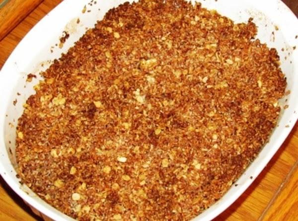Hazelnut Apple Crisp Recipe