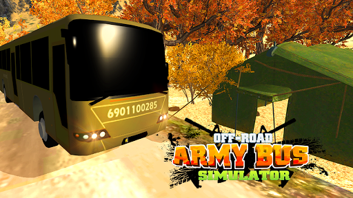 Off-Road Army Bus Simulator 3D