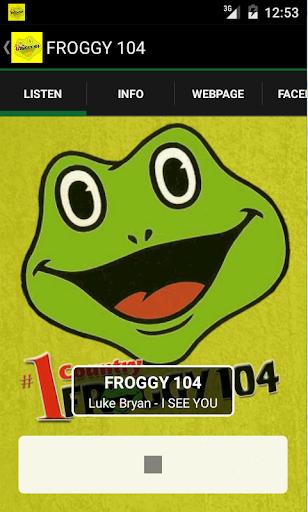 FROGGY 104