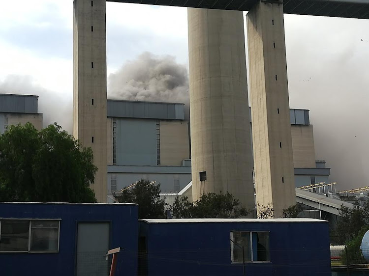 There was an explosion on Wednesday afternoon at unit five of Eskom's Lethabo power station near Viljoensdrif in the Free State.
