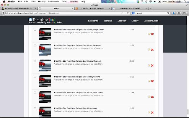 Template Tool eBay Listing Designer - Chrome Web Store