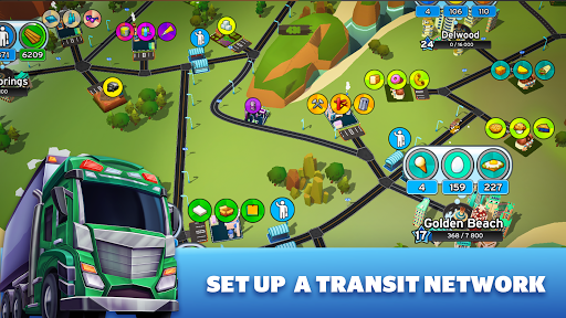 Transit King Tycoon - City Tycoon Game apktram screenshots 14