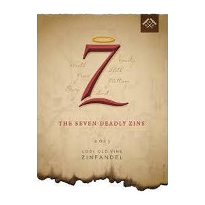Logo for Michael David Winery 7 Deadly Zins Zinfandel
