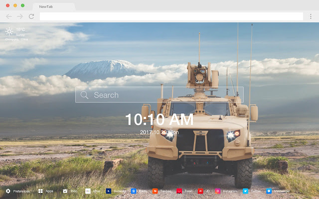 Light tactical vehicle car military HD theme