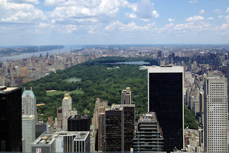 Photo: from the Top of the Rock http://ow.ly/caYpY
