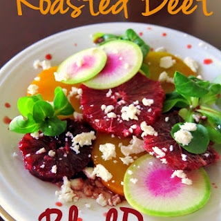 Roasted Beet & Blood Orange Salad