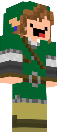 how to make a minecraft derp face