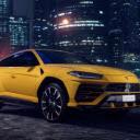 Lamborghini Urus New Tab Theme