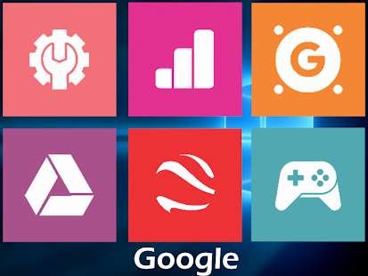Win10 Flat - Icon Pack Screenshot