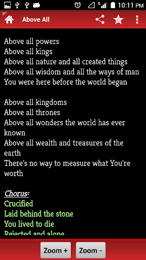 Christian Hymn Book 2.6 screenshots 2