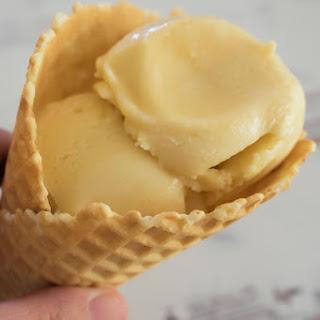Smooth and creamy Baileys Ice Cream.
