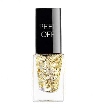 Nagellack peel off gold glitter - 5ml