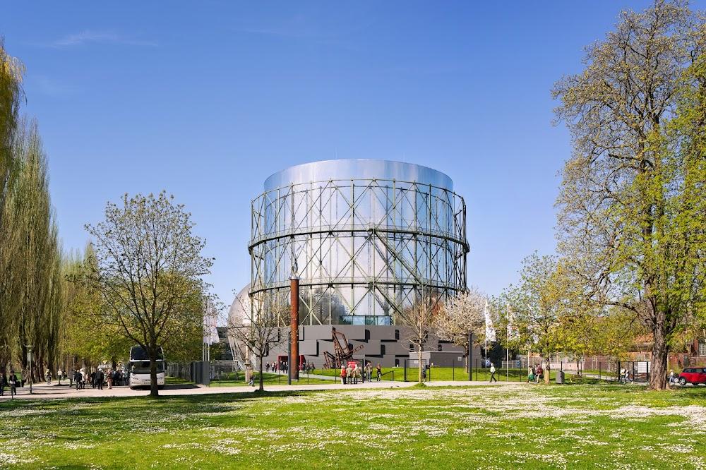 Das Gasometer in Pforzheim ist eins der Highlights in der Goldstadt.