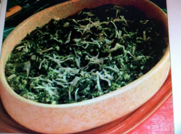 Baked Herbed Spinach