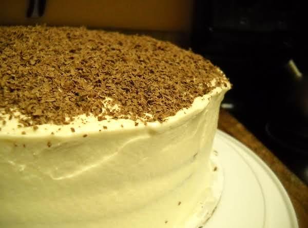 White Russian Layer Cake