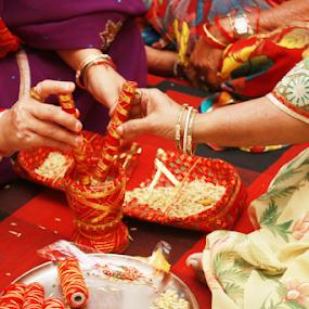 Wedding ceremony by Anurag Bhateja - Wedding Ceremony ( wedding, hindu wedding, india, indian wedding, ceremony )
