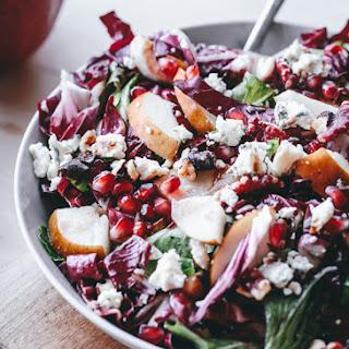Pear Pomegranate Salad Gorgonzola Recipes