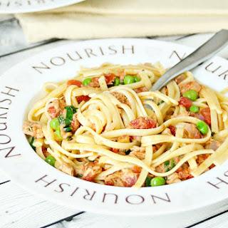 Light Tuna and Tomato Pasta Recipe
