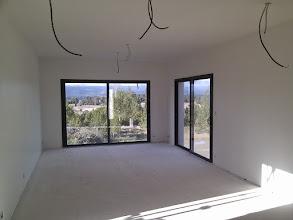 Photo: woonkamer in de grondverf