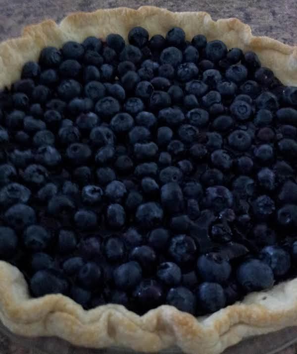 Fresh Blueberry Summer Pie