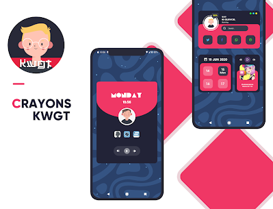 Crayons KWGT 0.1.2 Paid Latest APK Download 1