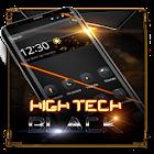 ハイテクブラックランチャー icon