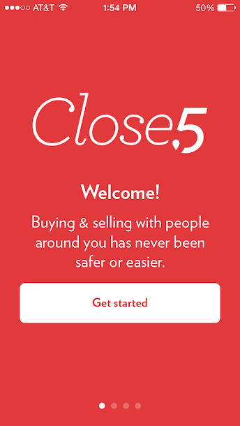 The Close5 is a buy and sell app that lets you sell your items locally