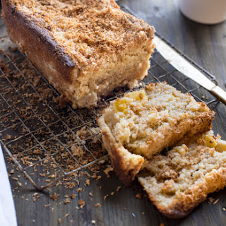 BRAZILIAN FLAIR PINEAPPLE AND COCONUT BREAD.