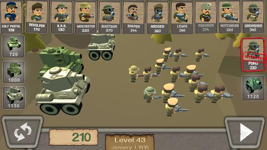 WW1 Battle Simulator MOD Apk 1.06 (Unlimited Bullets) 6