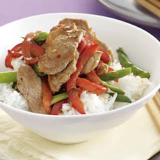 Pork and Vegetable Stir-Fry.