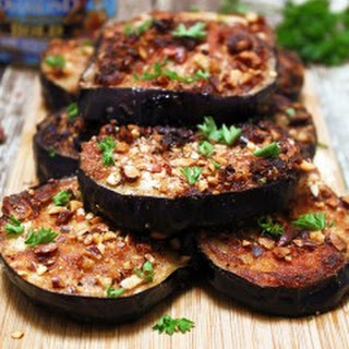 Pan-Fried Eggplant.