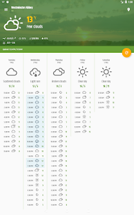 Simple weather & clock widget (no ads) APK image thumbnail 13