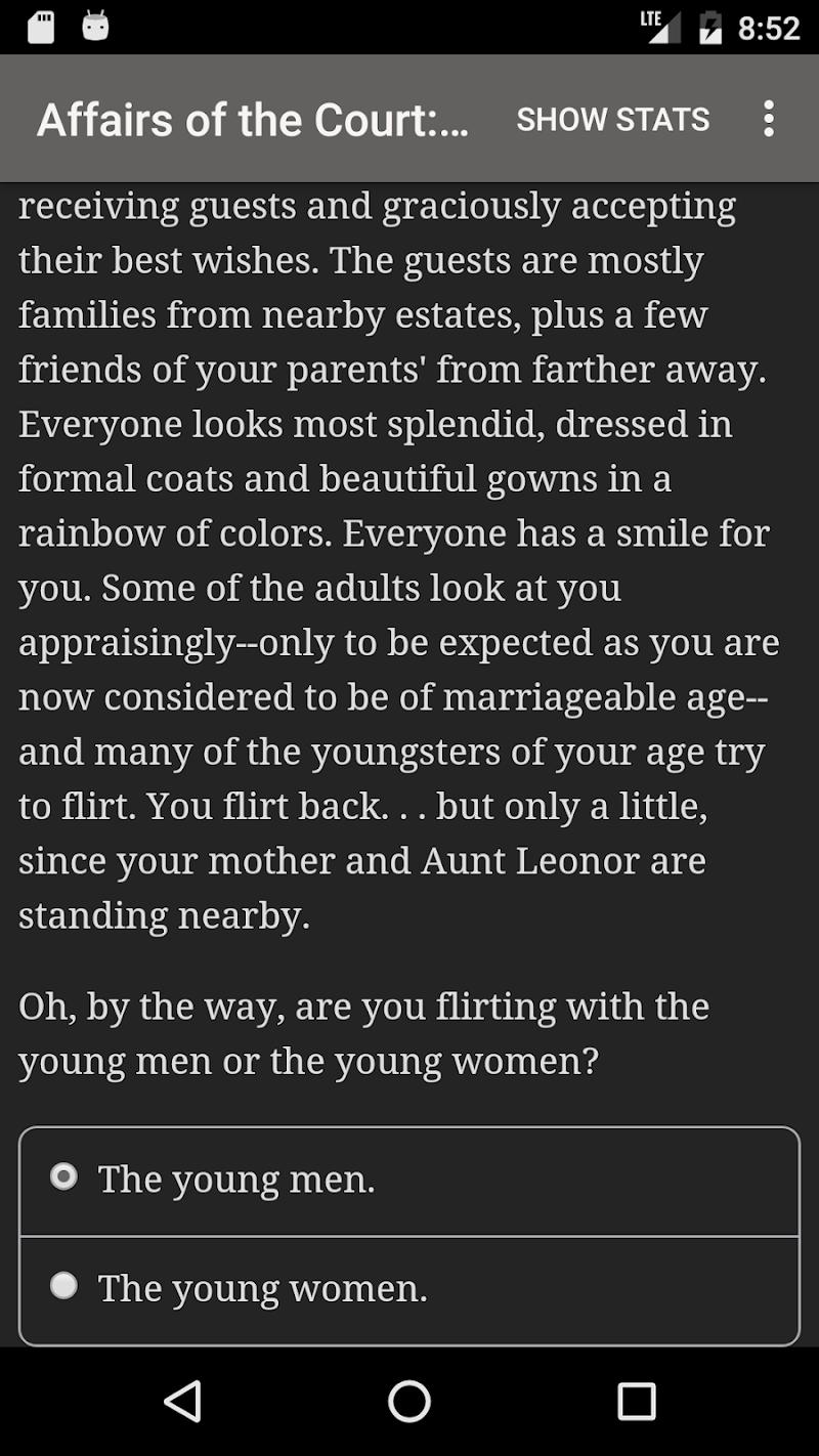 Affairs of the Court: Choice of Romance Screenshot 4