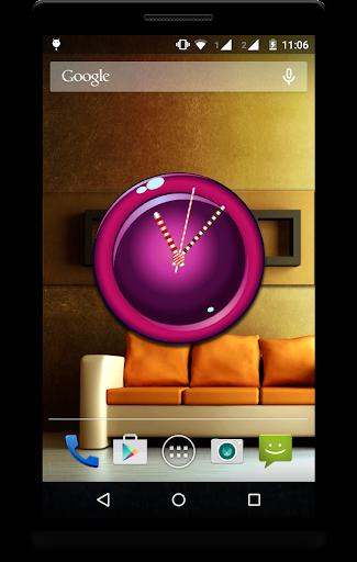 Candy Clock Live Wallpaper