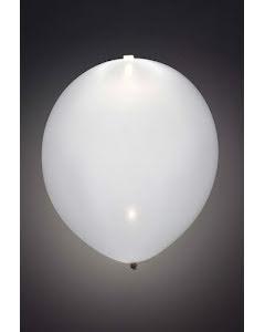 LED-ballong, vit 5st
