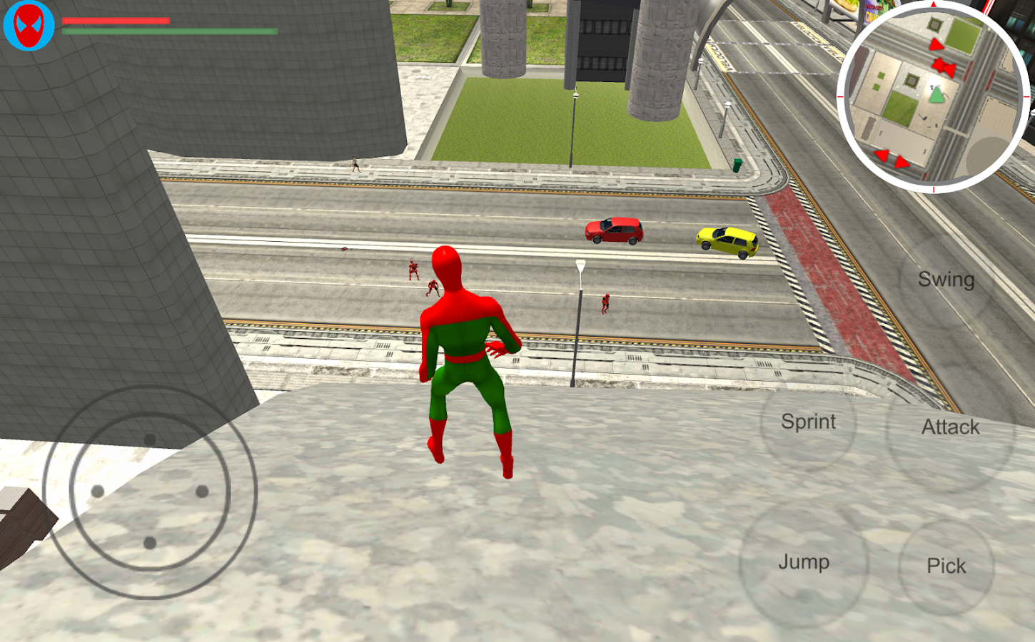 Spider Hero: City Battle- screenshot
