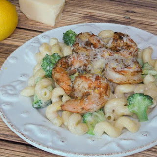 Shrimp Broccoli Cavatappi.