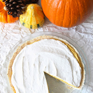 Gluten-Free Pumpkin Cream Pie