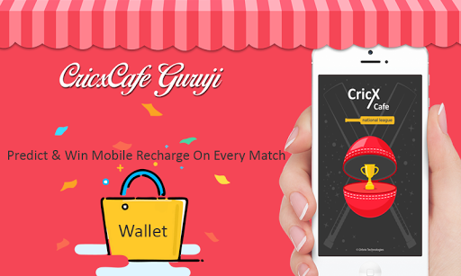 CricxCafe - Predict & Win Mobile Recharge  screenshots 1
